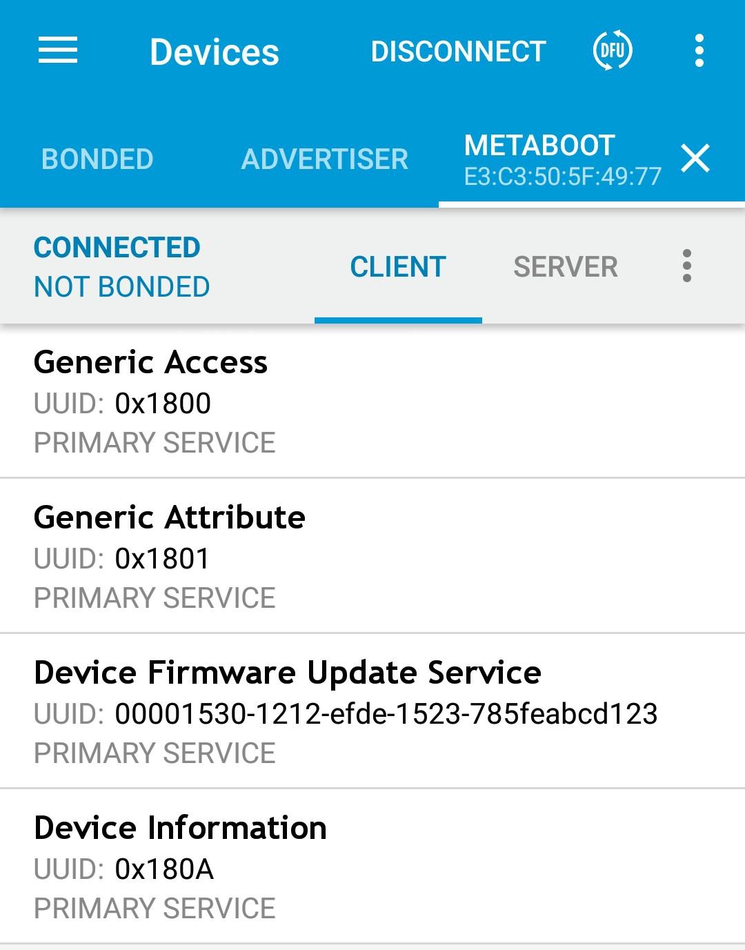 MetaMotion R+ stuck in MetaBoot Mode — MbientLab