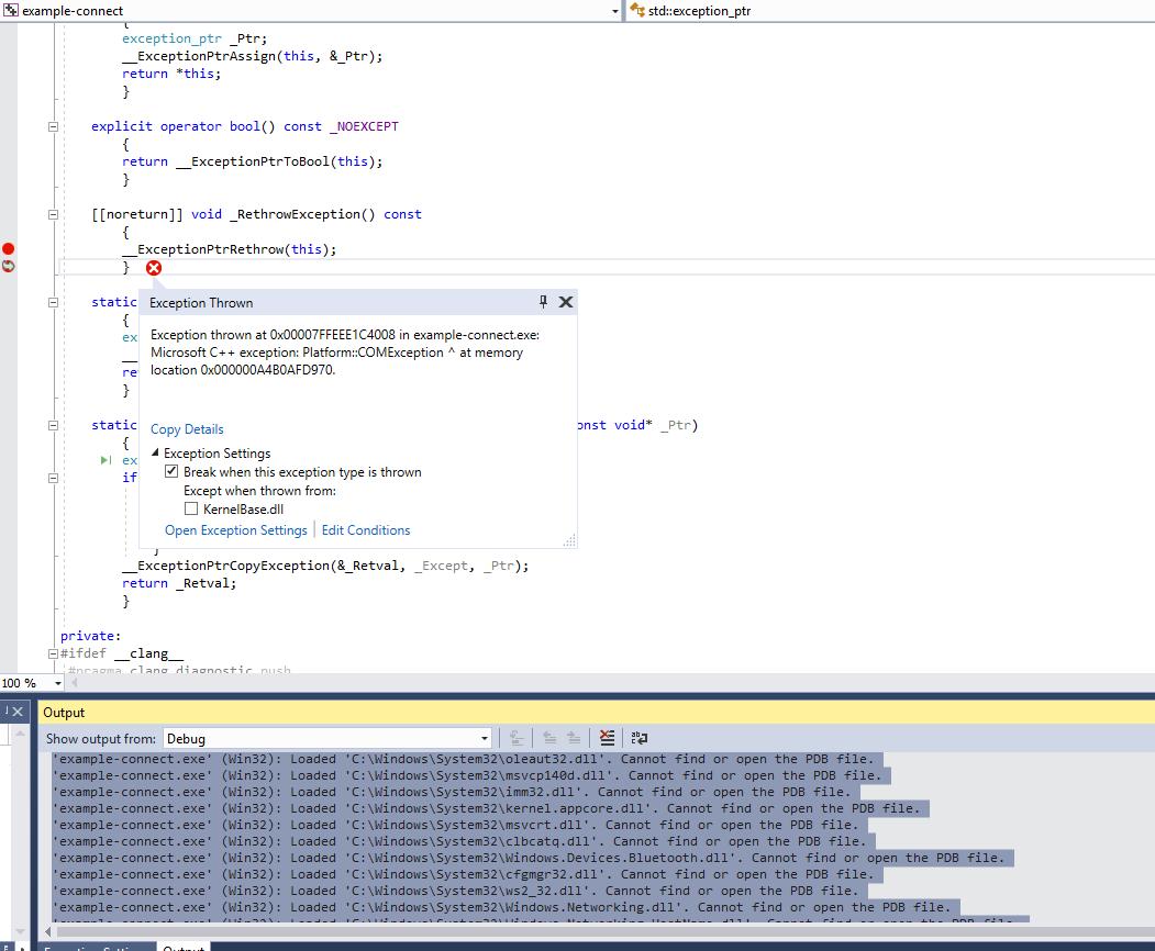 Problem with mbientlab/MetaWear-SDK-CSharp-Plugin