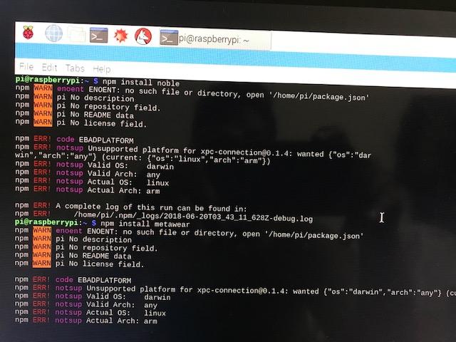 Javascript SDK Compile error — MbientLab
