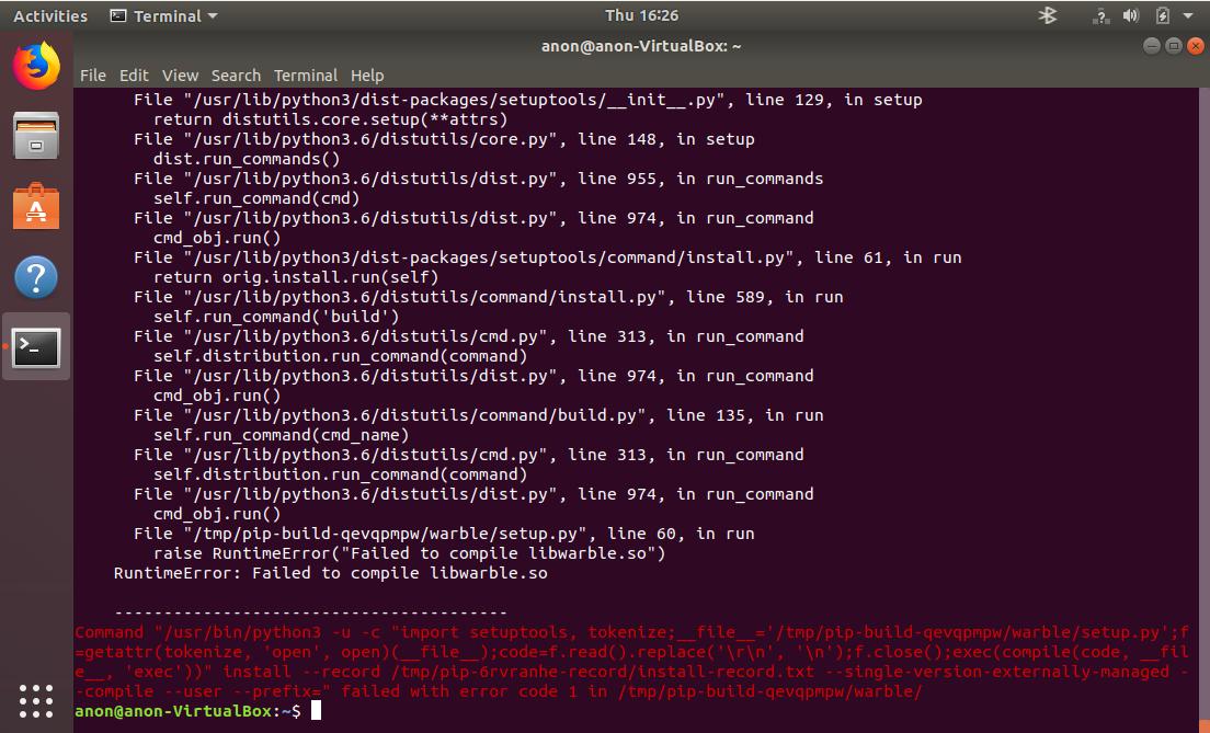 Struggling to install metawear (Get this error on Windows 10